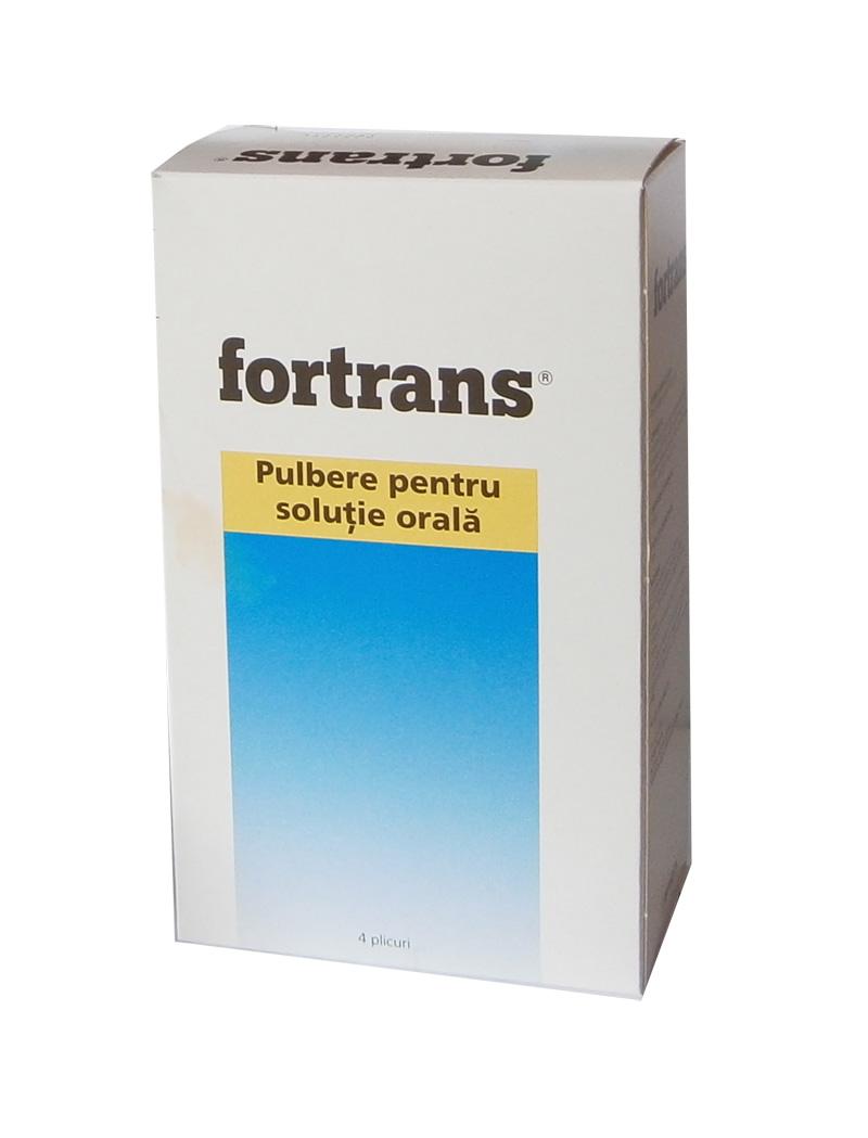Curatarea colonului cu fortrans. FORTRANS, pulbere pentru soluţie orală - prospect